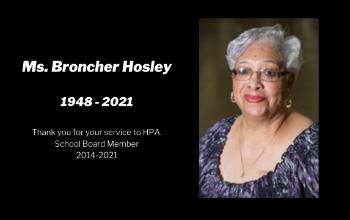 Broncher Hosley HPA School Board Member