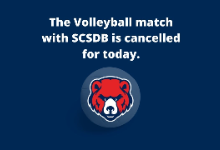 Tonight's Volleyball Game Cancelled