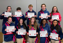 Congratulations to our 2021 Junior Marshals!