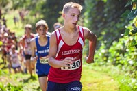 High Point Academy Boy Running Cross Country