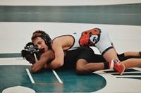 High Point Academy Wrestler