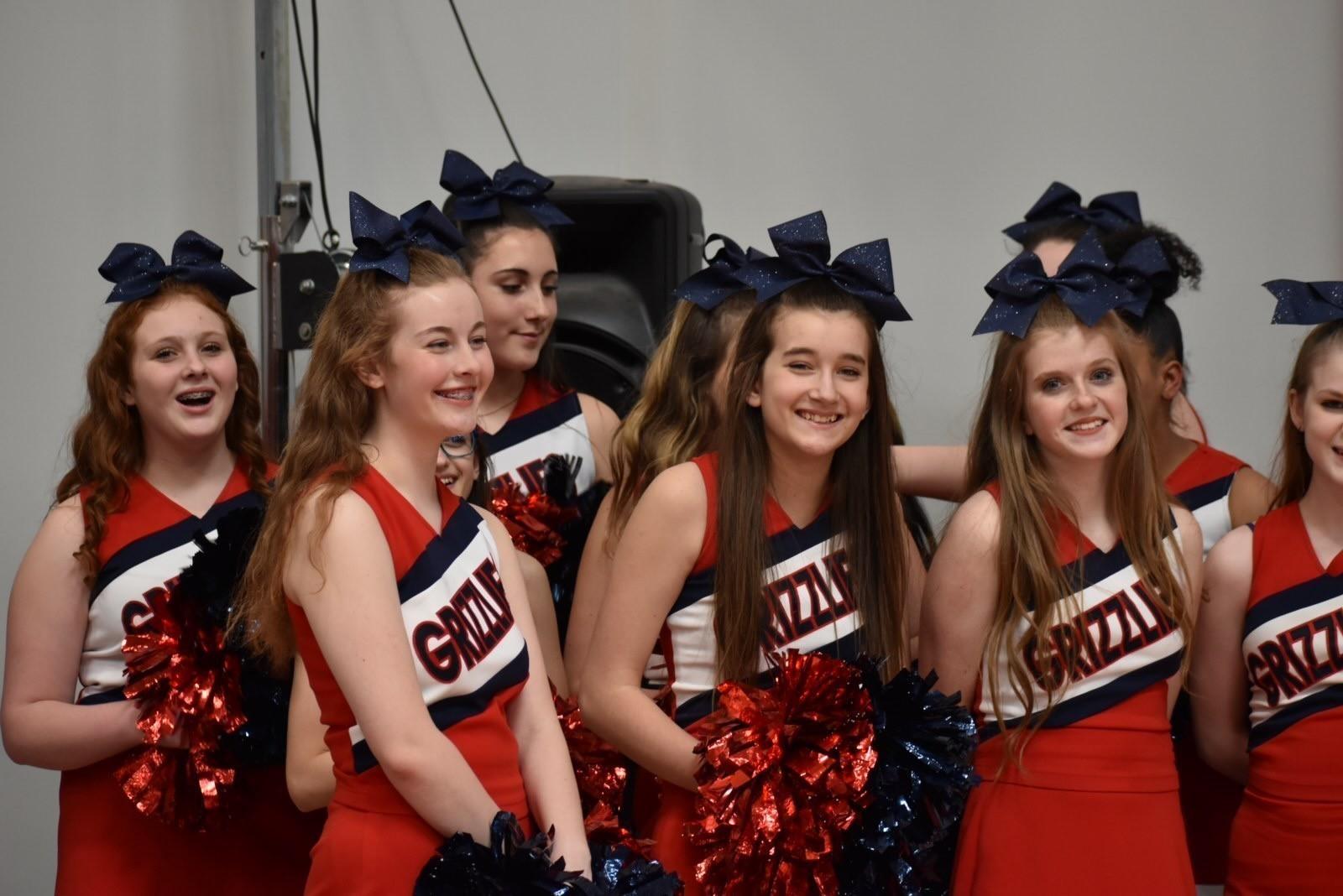 HPA Cheerleaders Pep Rally