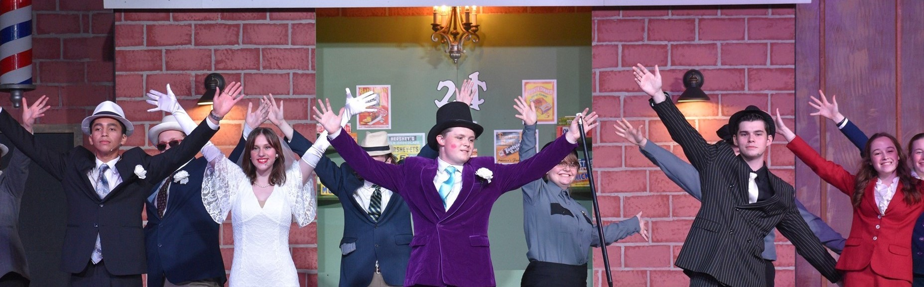 Guys and Dolls Jr High Point Academy Spring Musical 2021