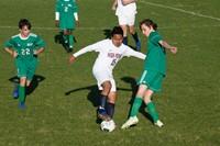 High Point Academy Soccer Player