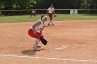 High Point Academy Softball Player