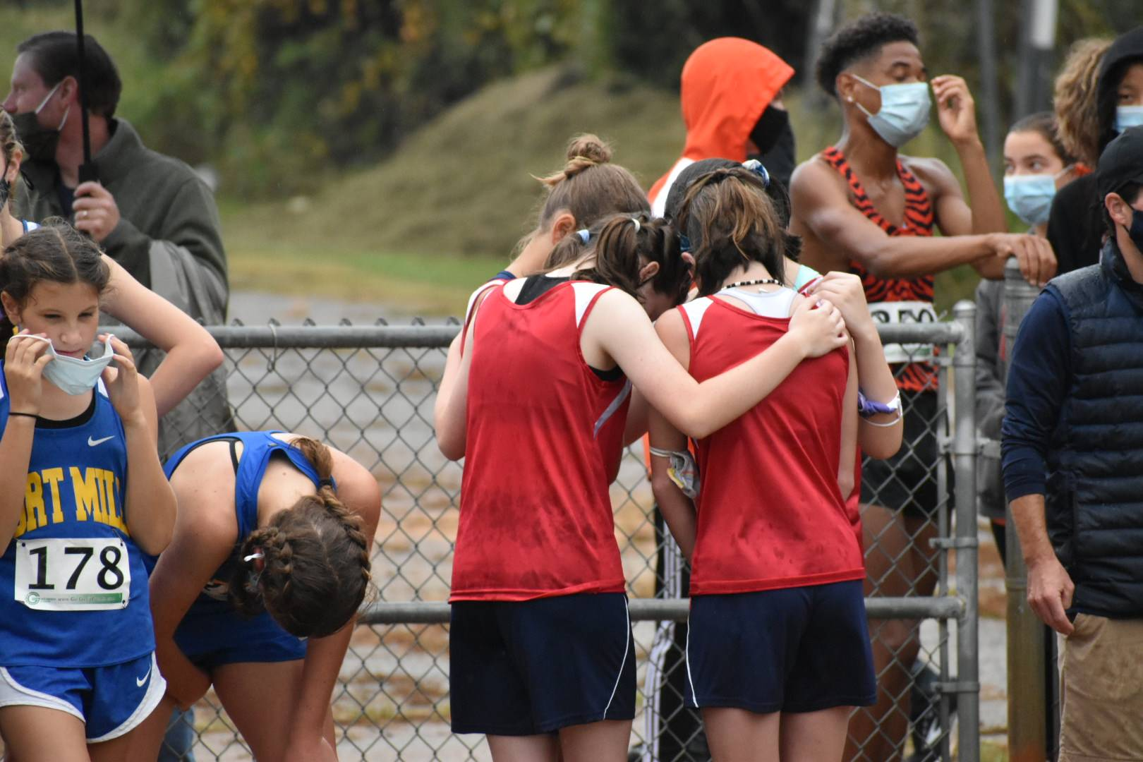 High Point Academy Cross Country Players