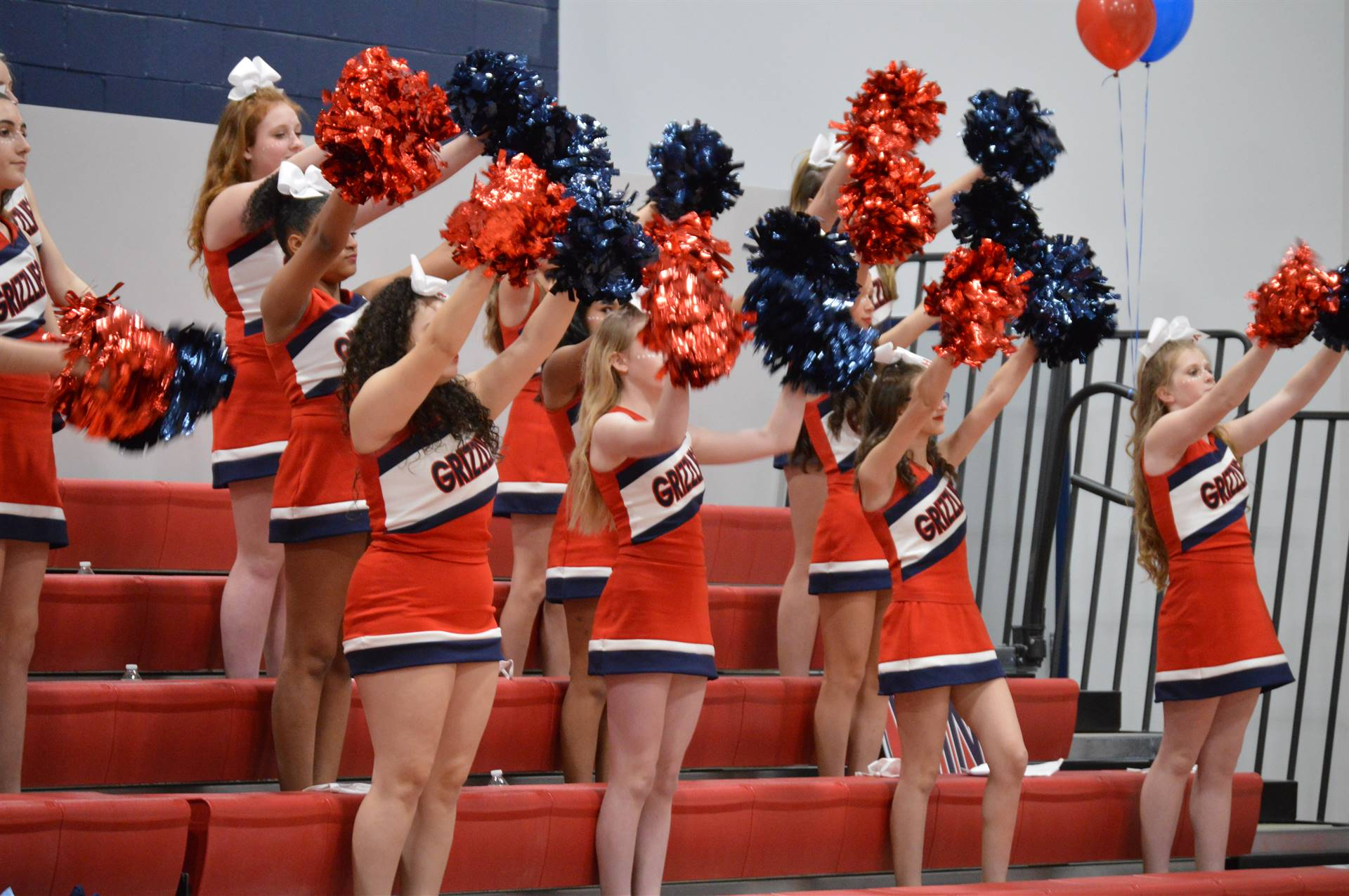 High Point Academy Cheerleaders