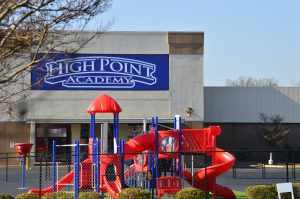 High Point Academy building